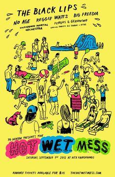 $15.00 | September 1 @ North Texas Fairgrounds - 35 Denton Presents: The Hot Wet Mess