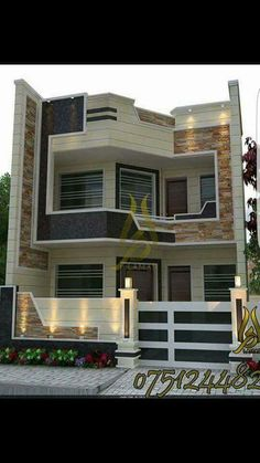 Home Stairs Design, Duplex House Design, Small House Design, House Map, House Stairs, Model House Plan, Architectural Floor Plans, Modern Villa Design, Small House Plans