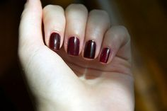 OPI All A-Bordeaux The Sled!, OPI Mrs O'Leary's BBQ, Essie Wicked, Zoya Stacy