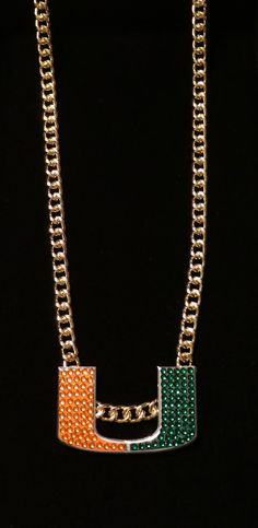 College-NCAA 24541  Miami Hurricanes Turnover Chain Replica -  BUY IT NOW  ONLY   69.95 on eBay! 30bf06230