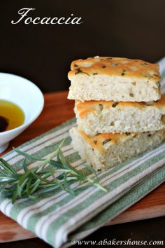 Basic Focaccia for #TwelveLoaves May | A Baker's House