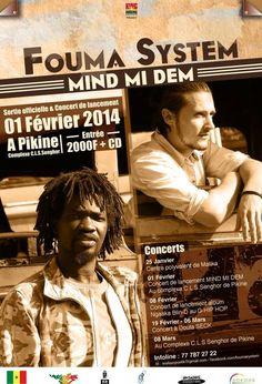 Aujourd'hui..  deux choses: Sortie de l'album de Fouma System @Exampler et @MustafMbaye. Rdv à Pikine à 21h. Entrée 2000 FCFA + 1cd offert http://www.wakhart.com/events/fouma-system-sortie-de-maxi/ Suivis de la KoulGraoul, Rdv à l'Olympique Club. Entrée 5000 FCFA http://www.wakhart.com/events/koulgraoul-en-fevrier/