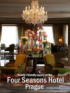 Family Friendly Luxury at the Four Seasons Hotel Prague - Hotel Review | Piccolo Explorer #FamilyTravel