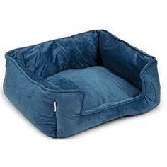 Plush Bed Rova Blue 63,5cm Bean Bag Chair, Bed, Furniture, Home Decor, Decoration Home, Stream Bed, Room Decor, Beanbag Chair, Home Furnishings