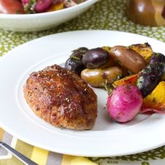 Mini meatloaf with tons of veggies and flavor