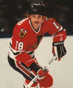 Denis Savard   Chicago Blackhawks   NHL   Hockey