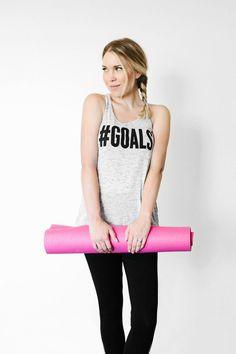 #Goals Tank Top | Th