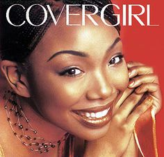 brandy covergirl | Picture from a Cover Girl commercial Brandy was in with Model, Tyra ...