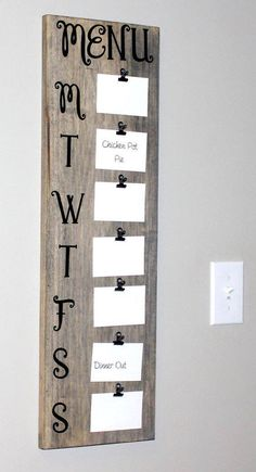 "Love this idea, now if I could actually do the planning part of the whole ""meal plan""!!"