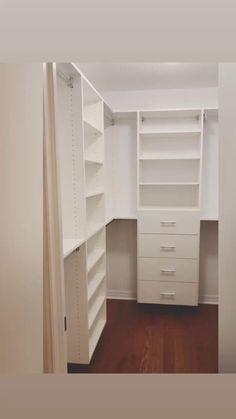 Small Closet Design, Master Closet Design, Master Bedroom Closet, Small Closets, Closet Designs, Small Master Closet, Walk In Closet Small, Ikea Closet Design, Easy Closets