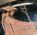 Hermes from the embassy to Achilles Louvre Greek Men, Greek Gods, Ancient Greece, Ancient Egypt, Martial, Le Bateleur, Hermes, Greece Fashion, Greek Pantheon