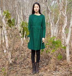 Long Jacket Fall / Winter  Long coat   Long sleeves by zenforet