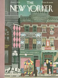 The New Yorker - Saturday, June 1, 1946 - Issue # 1111 - Vol. 22 - N° 16 - Cover by : Witold Gordon