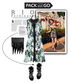 """""""Pack and Go: Rio de Janeiro"""" by edenslove ❤ liked on Polyvore featuring Proenza Schouler, Yves Saint Laurent, Elizabeth and James and H&M"""