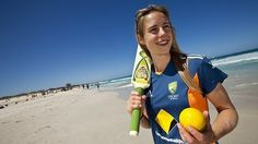 Australian cricketer + footballer, Ellyse Perry!