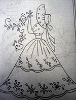 Free Sewing Sunbonnet Sue Pattern | Sue Bonnet Quilt Pattern - Vintage Sun Bonnet Sue Embroidery Patterns