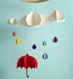 dia de chuva colorida