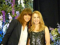 Xena and Gabrielle themselves, Lucy Lawless and Renee O' Connor. Such great women and actresses. Great Women, Beautiful Women, Jessi Combs, Lucy Lawless, Happy Week, Xena Warrior Princess, Julia Roberts, Buffy, Actresses