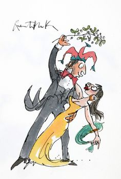 DANCING THE TANGO  SIR QUENTIN BLAKE