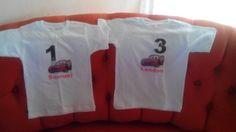 Camisetas personalizadas de cars