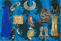 """""""Blue Cleopatra"""" by sandrakrim on Polyvore"""