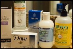 Gluten Free Personal Care Products, list of ingredients to look for. | Living Gluten and Grain Free