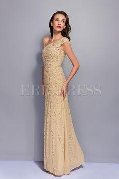 Gorgeous One-Shoulder Floor-Length A-Line Renata's Evening Dress