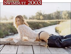 Molly Sims - Sports Illustrated Swimsuit 2003 Photographed by: Robert Erdmann