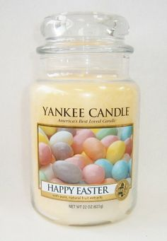Easter in a Jar? Yum!  (Yankee Candle Happy #Easter Candle)