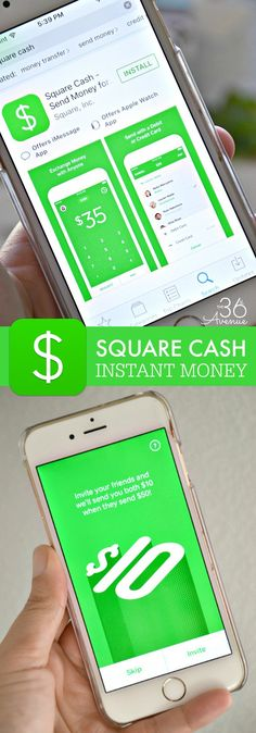 There are so many reasons to use the Square Cash app! Whether you are splitting a dinner or travel bill, sending money to a friend, or just forgot your card, the Square Cash app lets you receive or send money instantly. #cashapp #ad