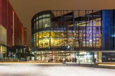 Famous Manchester Buildings. Manchester Arts & Cultural Centre