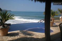 Spectacular Beach Front House  in Punta de Mita