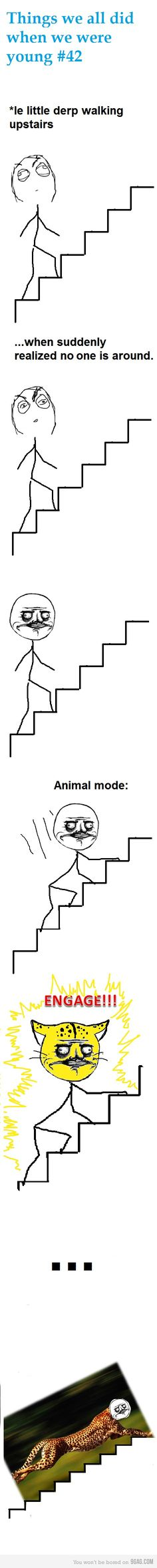 i just laughed myself to death because i realized i still do this!!!XD