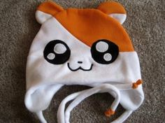 I found 'Anime Fleece Hat HAMTARO kawaii - Cosplay Character Cute Hamster' on Wish, check it out!