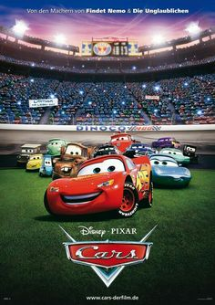 Car Themed Parties Cars 2006 Disney Pixar Characters Movies Invitation Films