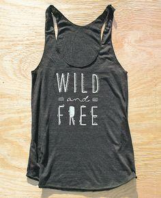 Wild and Free Boho Tank | Bohemian Fashion #bohemian ☮k☮ #boho