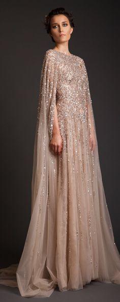 "Krikor Jabotian ""Akhtamar"", İ/Y 2014 - Haute couture - http://tr.orientpalms.com/krikor-jabotian-4681"