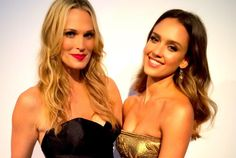 Molly Sims, Jessica Alba Sparkle at the Baby2Baby Gala