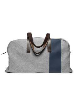 Everlane The Twill Weekender Bag, $98; everlane.com