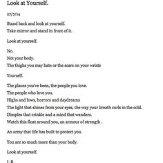 """lilysfreedom's photo on Instagram """"You are so much more than your body."""""""