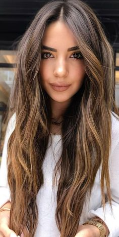 Hair Color For Morena Skin, Hair Color For Brown Skin, Brown Curly Hair, Long Brown Hair, Light Brown Hair, Different Brown Hair Colors, Asian Brown Hair, Natural Brown Hair, Blonde Curly Hair