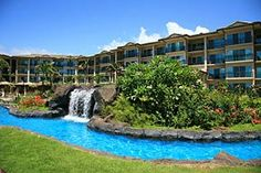 """Resort lifestyle at its best at Kauai's """"Hidden Gem"""": Waipouli Beach Resort, with the only Fantasy Pool on the island, lush tropical grounds, the beach and the ocean just steps away. Luxury Garden, a two bedroom, ..."""