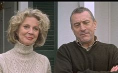 """Jack:  """"Oh, geez. I just thought of something."""" Dina:  """"What?"""" Jack:  """"Pam's middle name."""" Dina:  """"Martha... Oh, no."""" Jack and Dina (together): """"Pamela Martha Focker!"""" (Robert De Niro and Blythe Danner as Jack and Dina Byrnes in """"Meet the Parents"""")"""