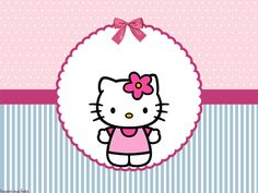 Kit de Hello Kitty para imprimir gratis y decorar tu fiesta ...