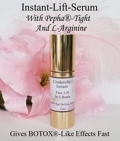 Instant-Lift Serum - Non Surgical Face-Lift! Will keep you Ravishingly Beautiful all day long. Non Surgical Facelift, Instant Lifts, Face Serum, Age, Skin Care, Cosmetics, Bottle, Beautiful, Beauty Products
