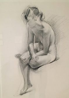 solitude1: Thiebaud - Untitled (Seated Female Nude), 1992 Museum...