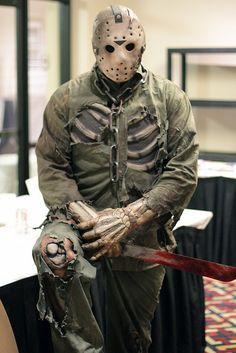 Badass Jason cosplay WANT THIS!!!!
