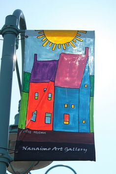Nanaimo Art Gallery Flag | nice idea!