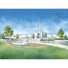 """Stop by http://www.chadhawkins.com and take a look at my """"Temple Artwork"""" page.  Over 100 temple images for your enjoyment!  I look forward to serving you."""