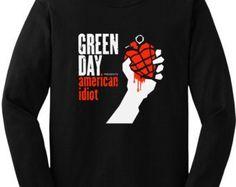 Green day american idiot sweatshirt hoddie by Fashionworldltd